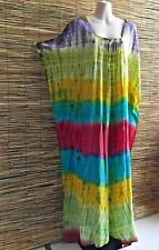 Plus size rayon caftan.Maxi lenght.Bust and hip 160cm all around.Summer design.