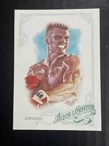 2015 Topps Allen and Ginter #229 Ivan Drago. Boxing.