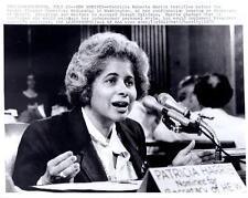 Washington: Patricia Harris testifies before Senate Finance Com. AP News Photo