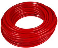 """Soft 50A Red High-Temp Silicone Rubber Inner Dia 1/4"""" Outer Dia 1/2"""" - 10 ft"""