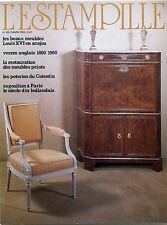 L'Estampille n°155- : Verres Anglais Les poteries du Cotentin Meubles Louis XVI