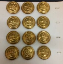 MERCHANT NAVY ALL METAL UNIFORM BUTTONS AS USED IN WW11 23 mm  NEW   No25B