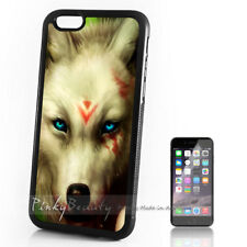 ( For iPhone 4 / 4S ) Back Case Cover P11467 Wolf Indian