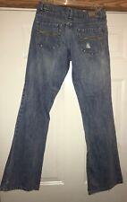 Women's Distressed Jeans Size 5 Medium Light Wash