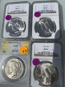 Certified US Coins ANACS & or PCGS No Reserve $200+ Red Book Value; A5