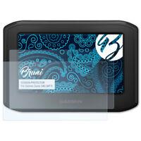 Bruni 2x Folie für Garmin Zumo 346 LMT-S Schutzfolie Displayschutzfolie