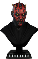 Star Wars Ray Park Darth Maul Life-size Bust Sideshow Collectibles Statue 1:1
