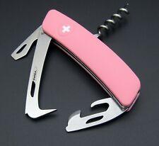 Schweizer Taschenmesser SWIZA, Mod HO03 Horse Tool PINK,navaja, swiss army knife