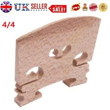 More details for 4/4 high quality maple violin bridge wood-colored instrument accessories uk