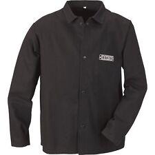 Ironton Flame Resistant Welding Jacket Medium Black