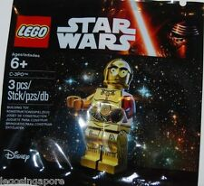 LEGO STAR WARS 5002948 C-3PO MINIFIG RED ARM FORCE AWAKENS POLYBAG RESISTANCE