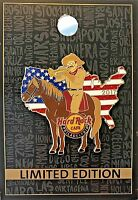 Hard Rock Cafe Philadelphia Pin Theodore Teddy Roosevelt USA 2017 LE New # 94230