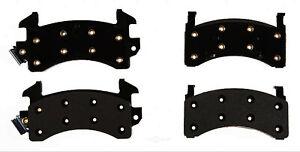 Disc Brake Pad Set-Semi-Metallic Rear ACDelco Pro Brakes 17D202M