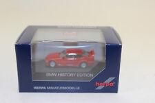 Herpa 102056 BMW M3 GTR BMW HISTORY EDICIÓN 1:87 H0 NUEVO EN EMB. orig.