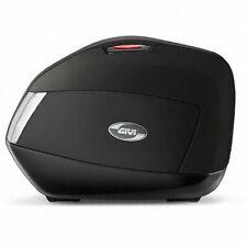 GIVI SADDLEBAG SET V35 TECH MONOKEY BLACK MATTE BLACK - CLEAR LENSES
