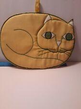 New listing Vintage Cat pot holder 1980
