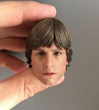 █ Custom Luke Skywalker 1/6 Head Sculpt for Hot Toys Body Star Wars DX07 █