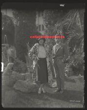 Original Studio Camera Negative Erte Artist & Carmel Myers Movie Star VERY RARE!
