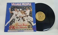Village People Can't Stop The Music Vintage Vinyl LP 1980 1st Press VPL1 4242 EX