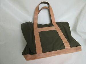 Vintage Canvas Bag Umhängetasche Weekender Schultertasche Nose Art Lutece Mfg Co