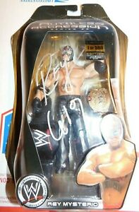 WWE Jakks Ruthless Aggression Series 22 Rey Mysterio 1 of 500 Signed Autographed