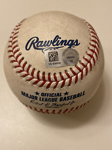 MLB Authenticated - Phillip Evans vs Jose De Leon Game-Used Baseball