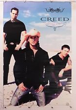 "Creed Weathered World Tour Music vintage poster 22.25"" X 34.50"" Nos (b525)"