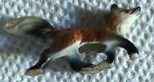 Running Fox with Tail Up Figurine