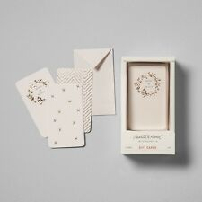 12 Counts Merry & Bright Gift Tag Set Cream/Gold - Hearth & Hand with Magnolia