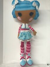 """Lalaloopsy Mittens Fluff Plush Doll Pillowtime Pals Cuddle Pillow Toy 26"""" Tall"""