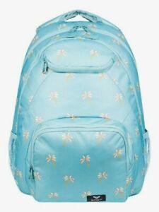New NWT Women's ROXY Shadow Swell 24L Medium Backpack Laptop Sleeve Adjustable