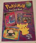 Rare Pokemon Postcard Book Golden Books Vintage 1999 24 Postcards Intact