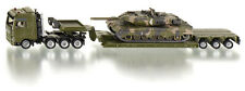 Siku Super 1872 1:87 Heavy Haulage Military Transporter Truck with Leopard Tank