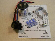 6 volt 535 thermal flasher, bracket, 3 wire plug,  6 v bulb,  install directions
