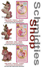 Filly World-I 3 baby in esclusiva figure, Sparkle, Magic, Crystal