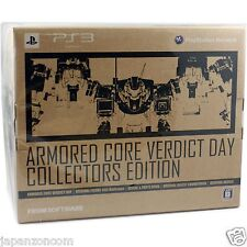 Used PS3 ARMORED CORE VERDICT DAY   SONY PLAYSTATION 3 JAPAN JAPANESE IMPORT