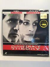 Conspiracy Theory Laserdisc Widescreen Edition - Mel Gibson - Julia Roberts