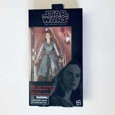 """REY (JEDI TRAINING) Star Wars The Last Jedi The Black Series #44 6"""" Figure MIB!"""