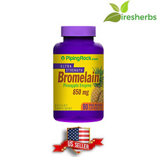 BROMELAIN PINEAPPLE ENZYME 850 mg DIGESTIVE AID PROTEIN SUPPLEMENT 90 CAPSULES