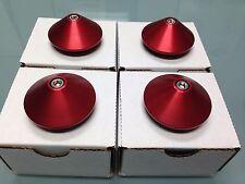 MF8 MF10 WHEEL CAPS SET OF FOUR RED BRAND NEW