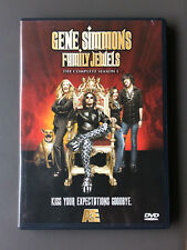 GENE SIMMONS FAMILY JEWELS The Complete Season 1 DVD 2 Discs KISS