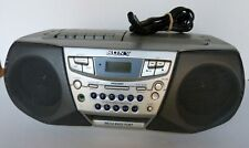 Sony Cfd-S22 Cd Am/Fm Radio Cassette Boombox Tested