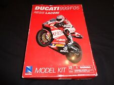 DUCATI 999F05 MODEL KIT RARE BRAND NEW IN BOX REGIS LACONI NEW BOX HAS DAMAGE