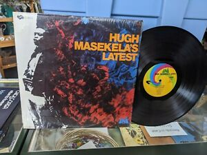 "Hugh Masekela's Latest"" Vinyl Record Vintage"