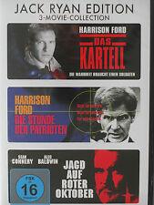Jack Ryan Tom Clancy Sammlung - Das Kartell + Jagd auf Roter Oktober + Patrioten