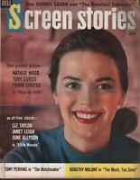 Screen Stories August 1958 Natalie Wood Tony Curtis Frank Sinatra 110119AME