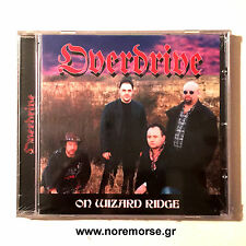 OVERDRIVE - ON WIZARD RIDGE, CD ORG 2005 NWOBHM LTD EDITION NEW SEALED OOP