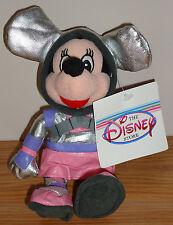 "Disney SPACEMAN MINNIE MOUSE 8"" Beanbag Plush w/Tag"