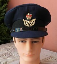 2001 dated RAAF Warrant Officer's peaked  cap.