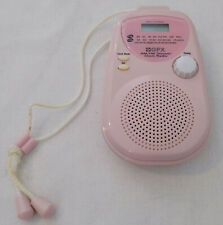 GPX AM / FM Shower Radio Pink Model A321